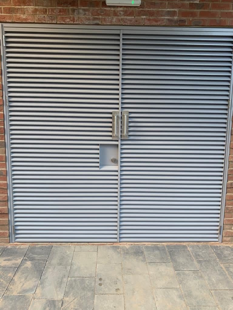 plant room external door