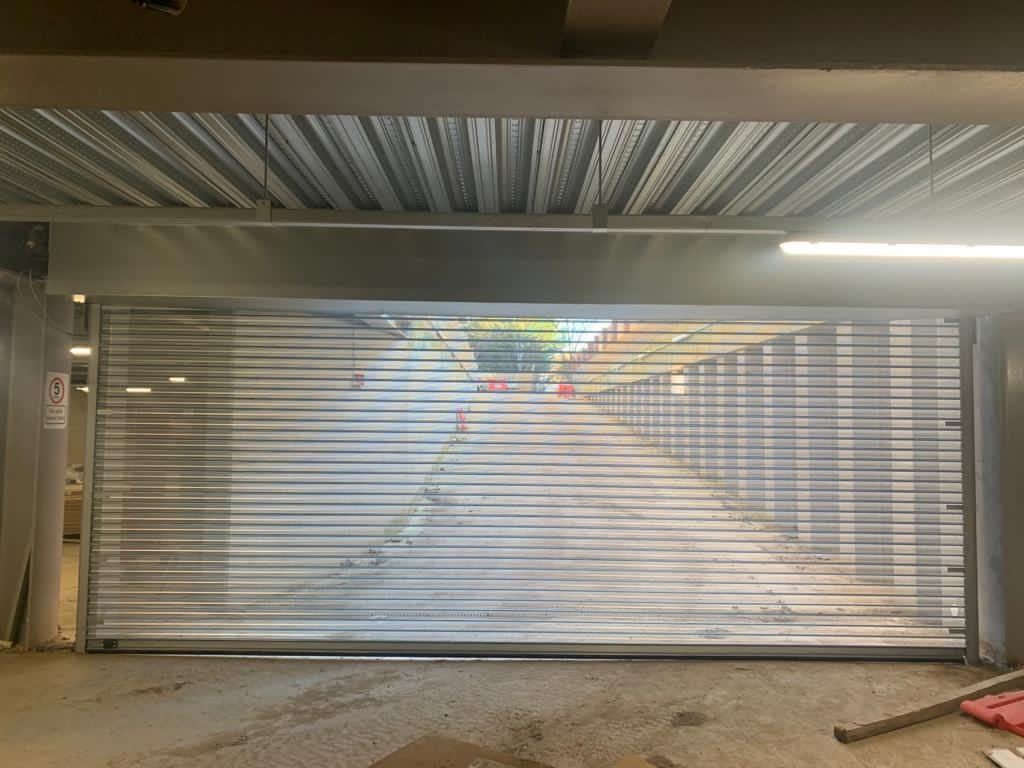transparent egress shutter